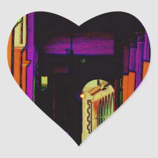 Pop Hallway Heart Sticker