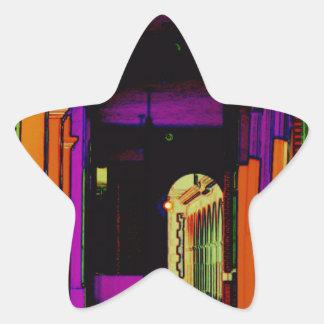 Pop Hallway Star Sticker