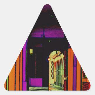 Pop Hallway Triangle Sticker