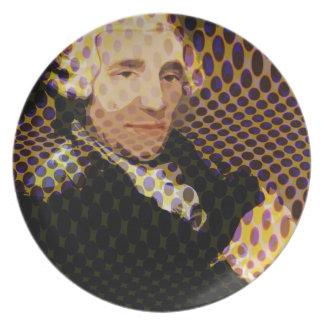 Pop Haydn Dinner Plates