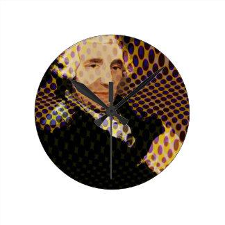 Pop Haydn Round Wallclocks