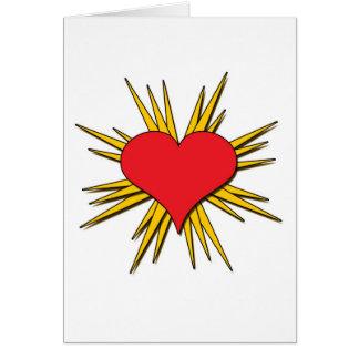 Pop Heart Card