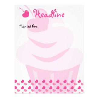 """Pop Heart Cupcake 8.5"""" X 11"""" Flyer"""