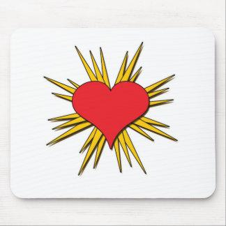 Pop Heart Mouse Pad
