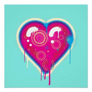 Pop Heart Poster