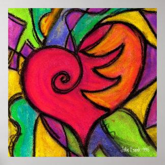 Pop Heart!  Square Poster   TBA Winner