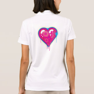 Pop Heart Polo T-shirts