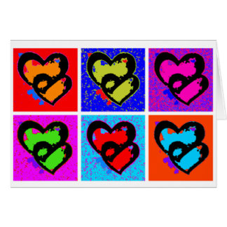 POP HEARTS CARD