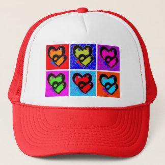 POP HEARTS TRUCKER HAT