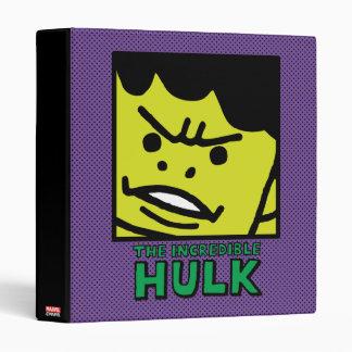 Pop Hulk Block with Logo Binder