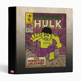 Pop Hulk Comic Cover #105 3 Ring Binder