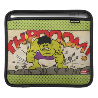 Pop Hulk Comic Strip iPad Sleeve