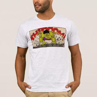 Pop Hulk Comic Strip T-Shirt