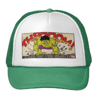 Pop Hulk Comic Strip Trucker Hat