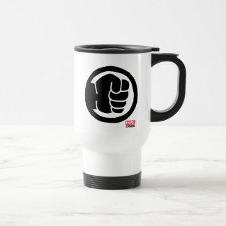 Pop Hulk Icon Travel Mug