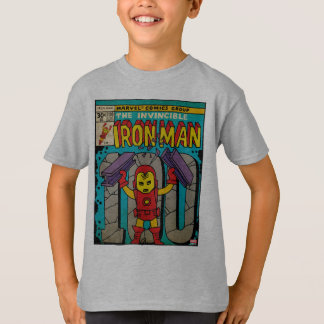 Pop Iron Man Comic Cover #100 T-Shirt