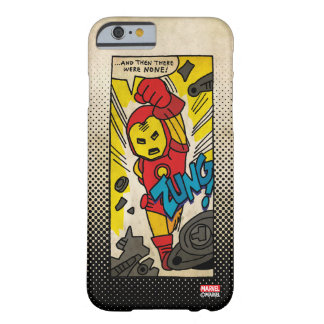 Pop Iron Man Comic Strip Barely There iPhone 6 Case