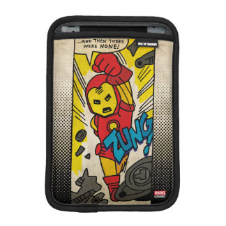 Pop Iron Man Comic Strip Sleeve For iPad Mini