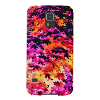 Pop Leaves Galaxy S5 Covers