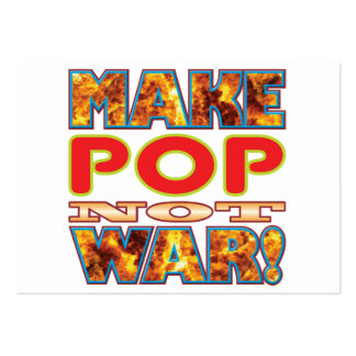 Pop Make X Large Business Cards (Pack Of 100)