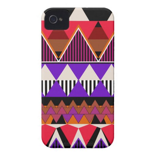 Pop Neon Tribal 2 iPhone 4 Cover