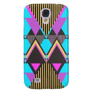 Pop Neon Tribal 5 Samsung Galaxy S4 Cases