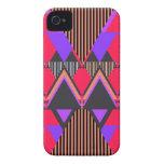 Pop Neon Tribal 6 iPhone 4 Case-Mate Cases