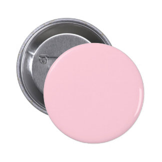 Pop of Color PASTEL PINK Custom Zazzle Gift 3 Pinback Button
