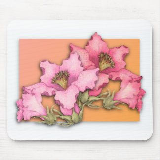 Pop off the Page Flowers Mouse Pad