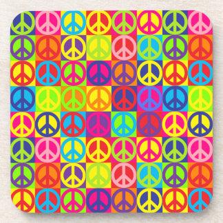Pop Peace Drink Coaster
