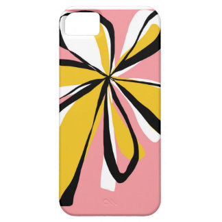 Pop Pink and Yellow Flower - iPhone case iPhone 5/5S Case