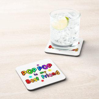 Pop Pop Best Friend Coaster