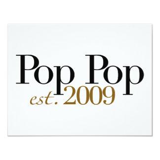 Pop Pop Est. 2009 Card