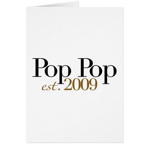 Pop Pop Est. 2009 Cards