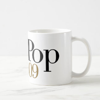 Pop Pop Est. 2009 Coffee Mug