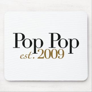 Pop Pop Est. 2009 Mouse Pad