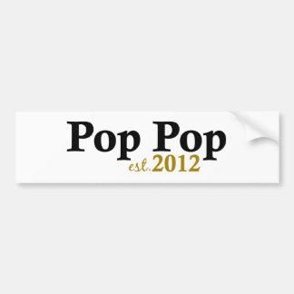 Pop Pop est 2012 Bumper Sticker