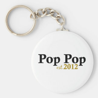 Pop Pop est 2012 Keychain