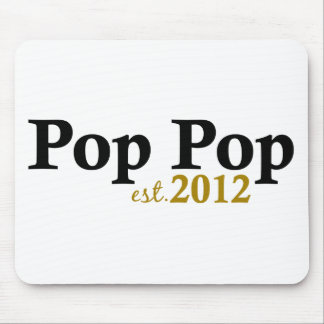 Pop Pop est 2012 Mouse Pad
