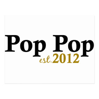 Pop Pop est 2012 Postcard