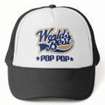 Pop Pop Gift Trucker Hat