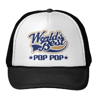 Pop Pop Gift Trucker Hat