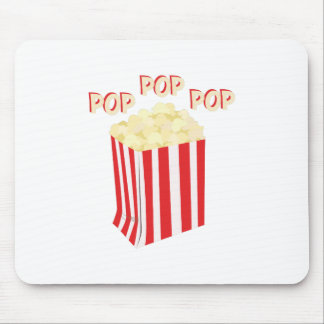 Pop Popcorn Mouse Pad