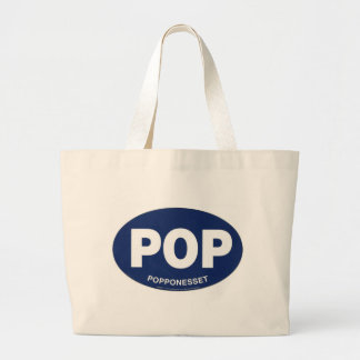 POP Popponesset Large Tote Canvas Bags