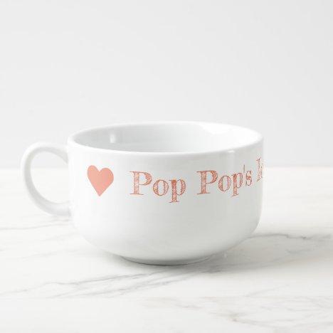 Pop Pop's Ice Cream Bowl