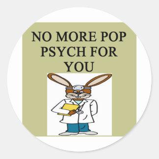 pop psych sticker