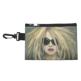 Pop Punk Grrrl Modern Painting Female Portrait Accessories Bag