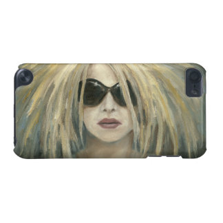 Pop Punk Grrrl Modern Painting Female Portrait iPod Touch 5G Cover