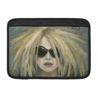 Pop Punk Grrrl Modern Painting Female Portrait MacBook Sleeve