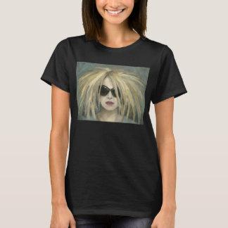 Pop Punk Grrrl Modern Painting Female Portrait T-Shirt